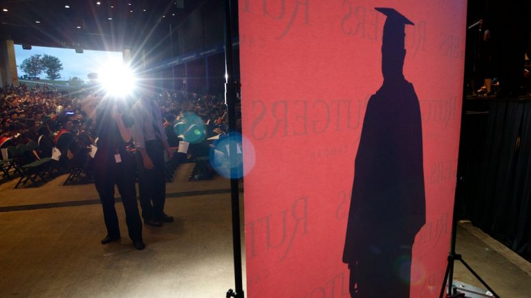 Undated Rutgers-Camden graduation ceremony (Bas Slabbers/for NewsWorks)