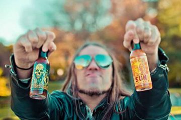 Steve Seabury, owner of High River Sauces, is one of a dozen hot sauce vendors expected at next month's Hop Sauce Festival.