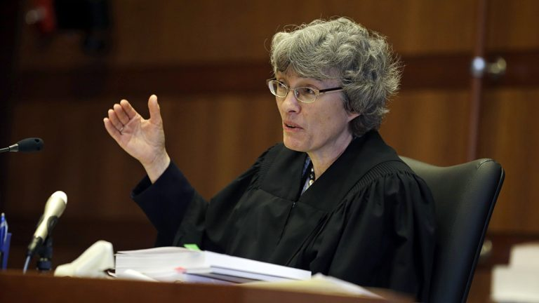 New Jersey Superior Court Judge Mary Jacobson in a March 2014 photo. (AP Photo/Mel Evans, Pool)