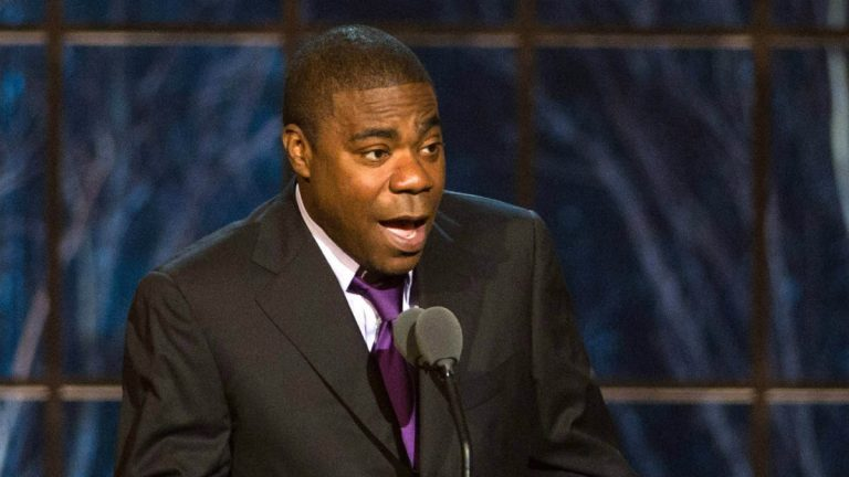 "Tracy Morgan appears onstage at the ""The Comedy Awards"" on March 26, 2011. (AP Photo/Charles Sykes, file)"