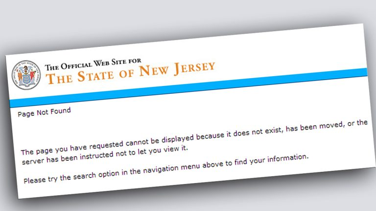 A screen shot of one of the missing documents pages.