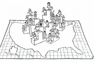 Common Core is designed to eliminate the varying standards from state-to-state. (Image from CCSS video)