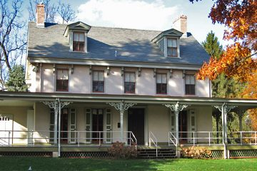 Alice Paul grew up in this home in Mt. Laurel, N.J. (Courtesy of the Alice Paul Institute)