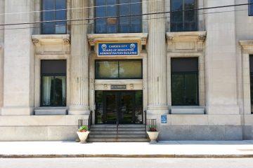 Camden Board of Education headquarters (Alan Tu/WHYY)