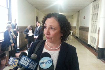 Marian Schneider represents voters in the case (Tom MacDonald/WHYY)