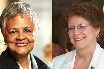Democrat Bonnie Watson Coleman (left) and Republican Alieta Eck (right) are the major party candidates in the 12th District race.