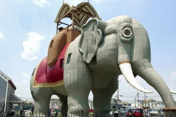 Lucy the Elephant is a tourist attraction in Margate, N.J. (AP Photo/Brian Branch-Price)