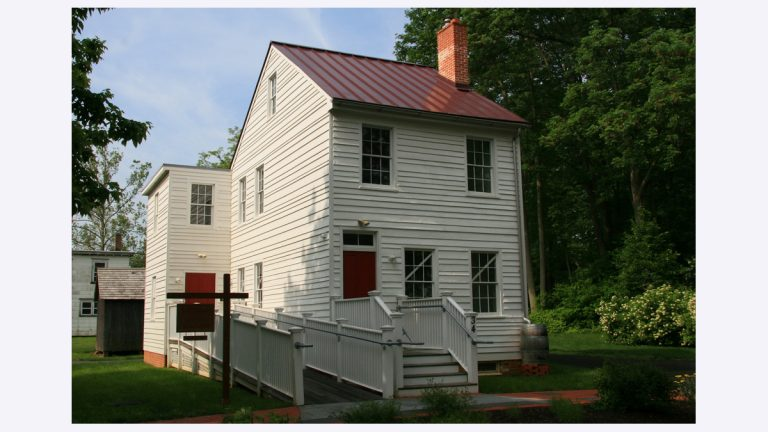 A preview of the Underground Railroad Museum is being shown at the Smithville Visitors Center. (Photo courtesy of Burlington County)