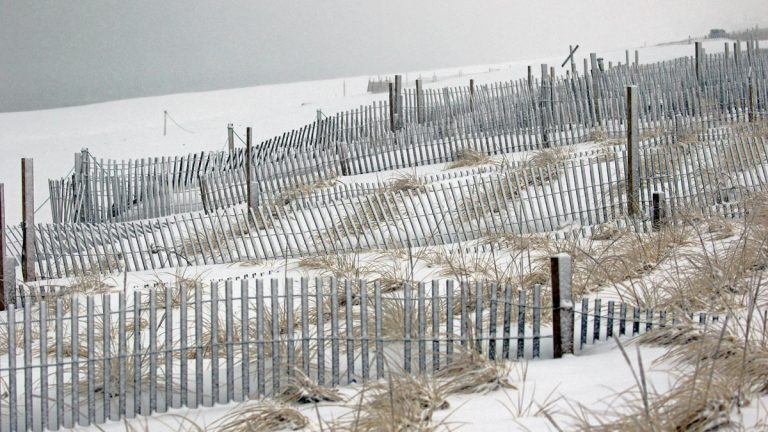 Bradshaw's Beach. Pt. Pleasant Beach, NJ. 3/5/2015 (Peggy Birdsall Cadigan‎ via Jersey Shore Hurricane News)