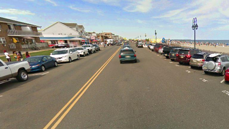 Ocean Avenue in Belmar, NJ. (Image via Google Street View)