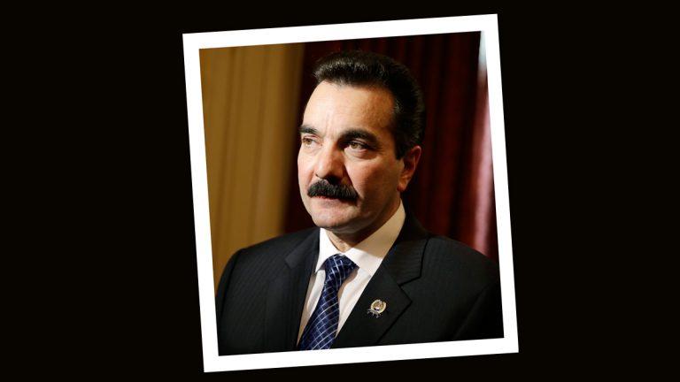New Jersey Assembly Speaker Vincent Prieto, D-Secaucus, N.J. (AP Photo/Mel Evans)