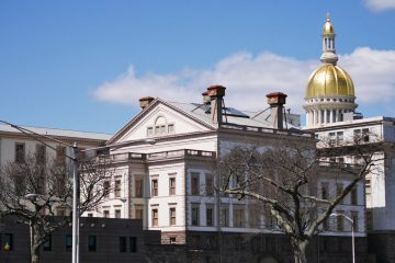 Trenton State Capitol Building (Photo courtesy of Evelyn Tu, file)
