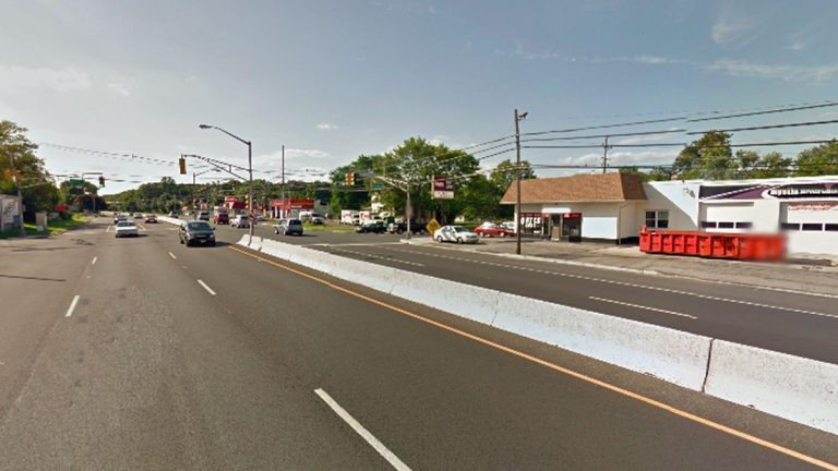 Route 36 at Avenue D in Middletown, NJ. (Image Google Street View)