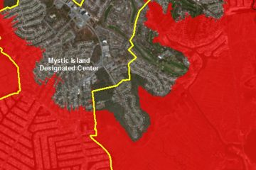 The area within the yellow line is a special economic zone. (Image courtesy of NJ Future's website)