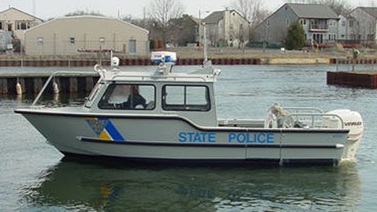 New Jersey State Police rescue boat. (Photo courtesy of NJ State Police, file)