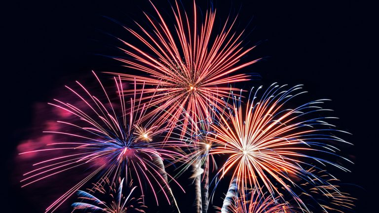 There will be a fireworks display Saturday night. (Shutterstock photo)