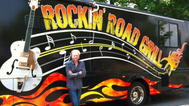 Screen capture from Eddie Berner's website rockinroadgrill.com