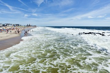 The beach in Ocean Grove. (Shutterstock, file photo)