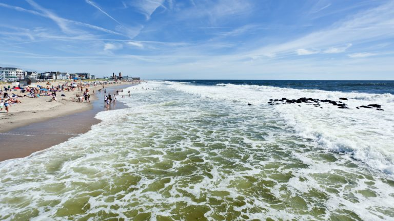 The beach in Ocean Grove. (Shutterstock, file photo)