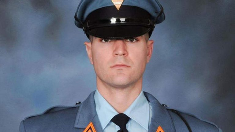New Jersey State Trooper Eli McCarson