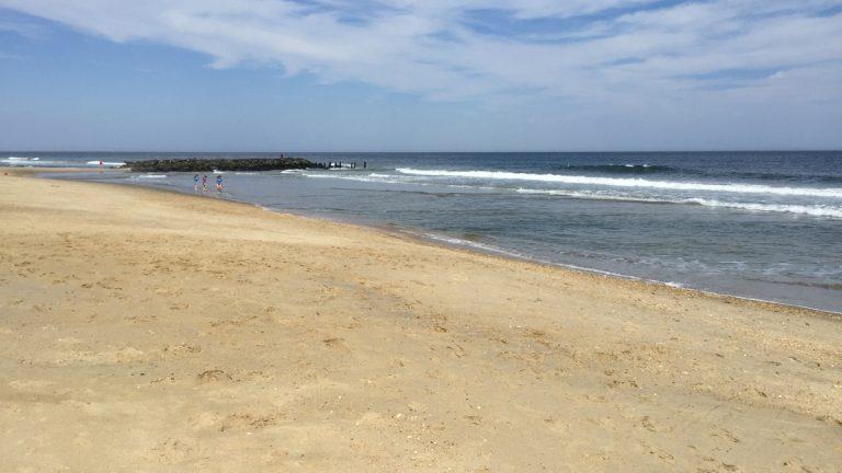 A beach in Belmar, NJ. (Alan Tu/WHYY, file)