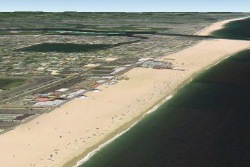 Point Pleasant Beach, NJ (Google Earth image)