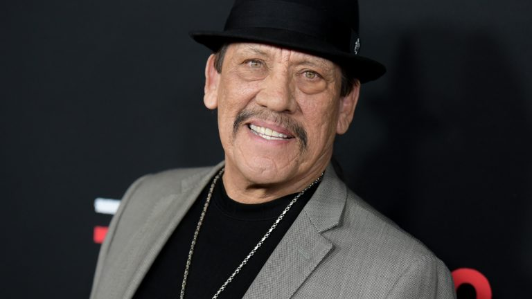 Actor Danny Trejo arrives at the LA premiere of