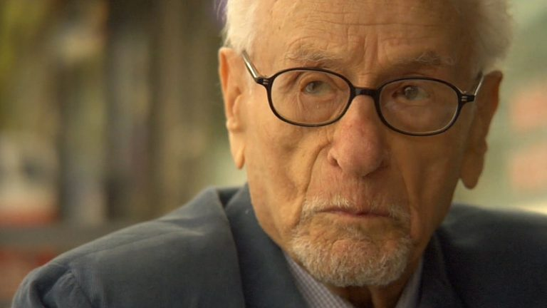 Eli Wallach in his final film 'The Train'. Wallach Wallach died in June 2014 at the age of 98. (Screen capture from trailer)