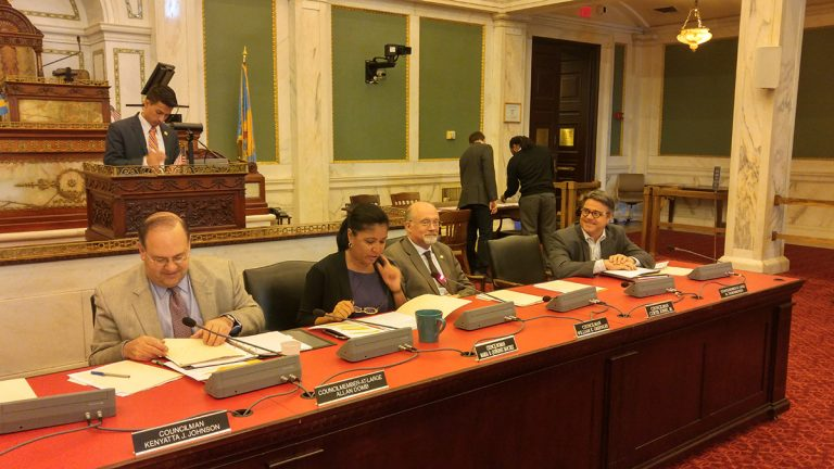 Philadelphia City Council is considering new notification regulation before building demolition. (Tom MacDonald / WHYY)