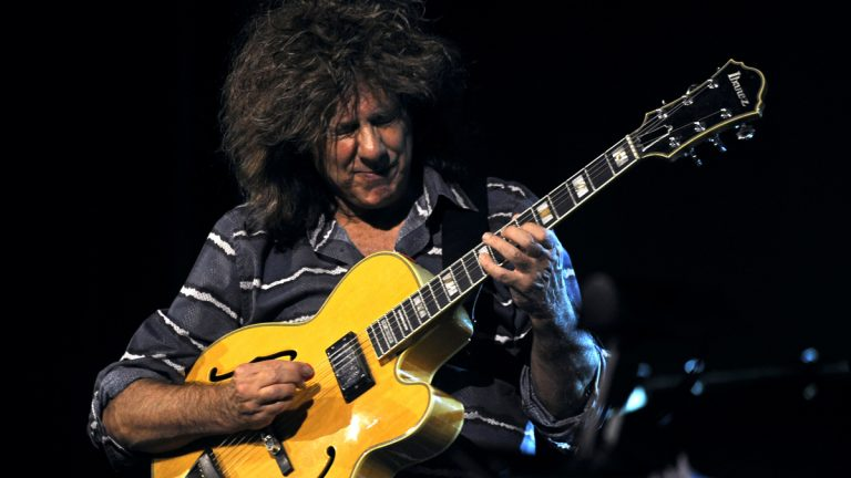 Pat Metheny will perform in Cape May this month. He's shown here at the Skopje Jazz Festival in Macedonia on Oct 24