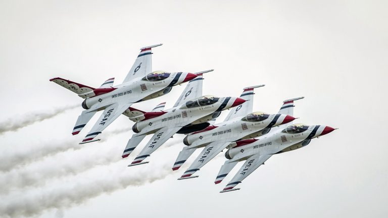 U.S. Air Force Thunderbirds will appear at the 2016 air show at McGuire-Dix-Lakehurst base. (Photo courtesy of JB MDL)
