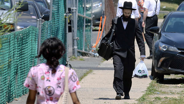 An influx of Orthodox Jews is fueling the city's growth. (NJ Spotlight File)