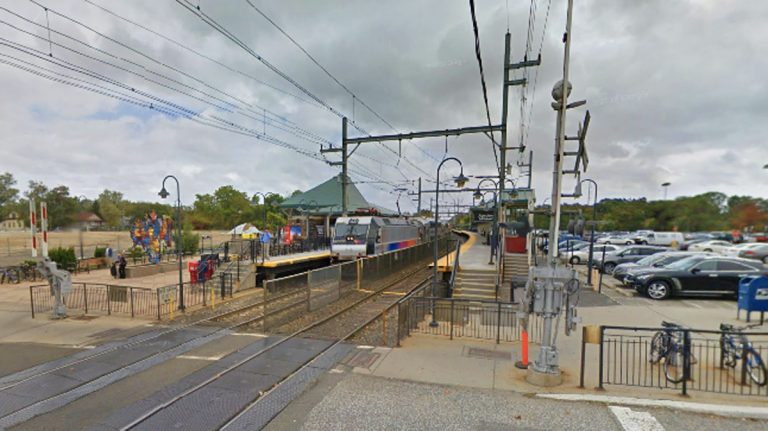 NJ Transit's Aberdeen-Matawan train station. (Google Street View)