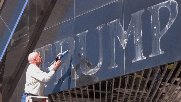 The Trump Plaza now closed is one of the casinos Donald Trump once owned.(AP Photo/Wayne Parry)