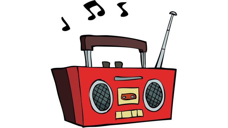 Radio Music Clipart