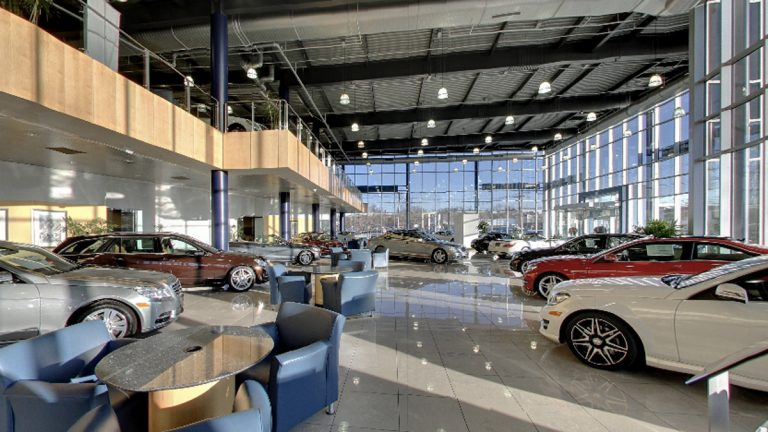 Show room of Prestige Motors in Paramus