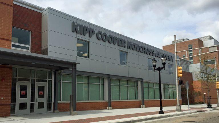 KIPP Cooper Norcross Academy is one of Camden's Renaissance schools. (Alan Tu/WHYY)