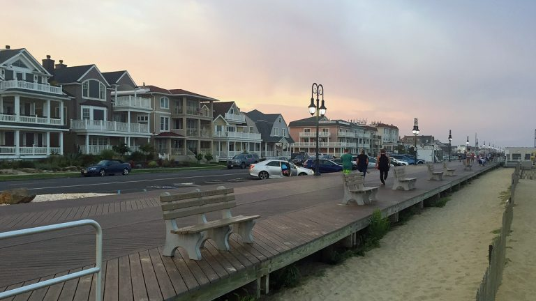 Parking costs $2 per hour on Ocean Avenue in Belmar