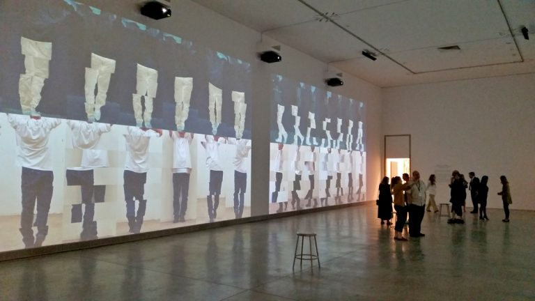 In his new monumental-sized video and sound installation