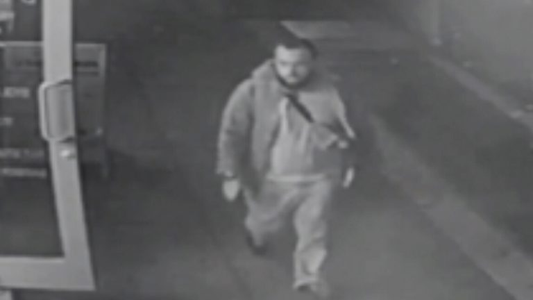 Earlier the NJ State Police released this image from surveillance video of Ahmad Khan Rahami.  (New Jersey State Police via AP)