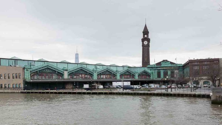 Undated file photo showing the Hoboken train station. (Big Stock photo)
