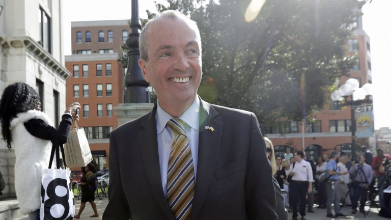 Former Obama administration ambassador Phil Murphy was the first to enter the 2017 N.J. governor's race. (AP Photo/Julio Cortez)