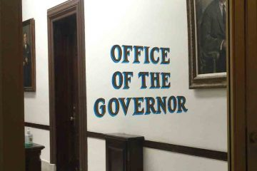 Governor Christie is serving his second and final term. (Alan Tu/WHYY)