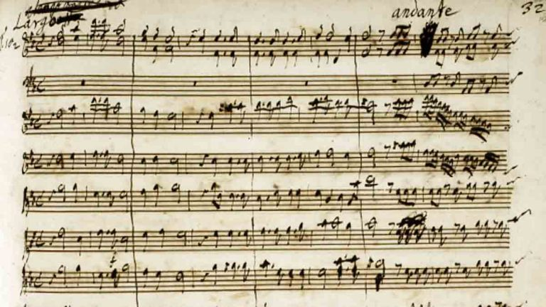 First page of the concluding chorus