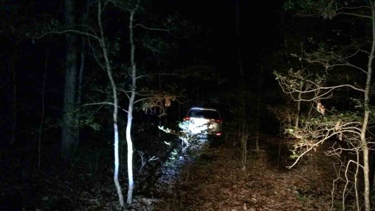 This photo provided by the Virginia State Police shows a vehicle Wednesday