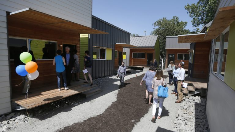 Guest tour tiny houses in Dallas