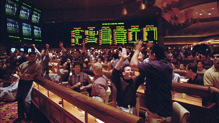 Nevada is the only state to offer single game sports betting. New Jersey wants to be included. (AP Photo/Lennox McLendon)