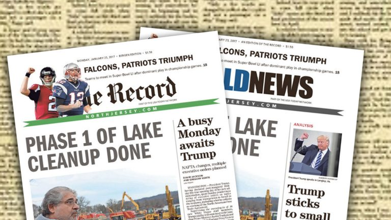 North Jersey Media Group owns both The Record and Herald News . (Alan Tu/WHYY)