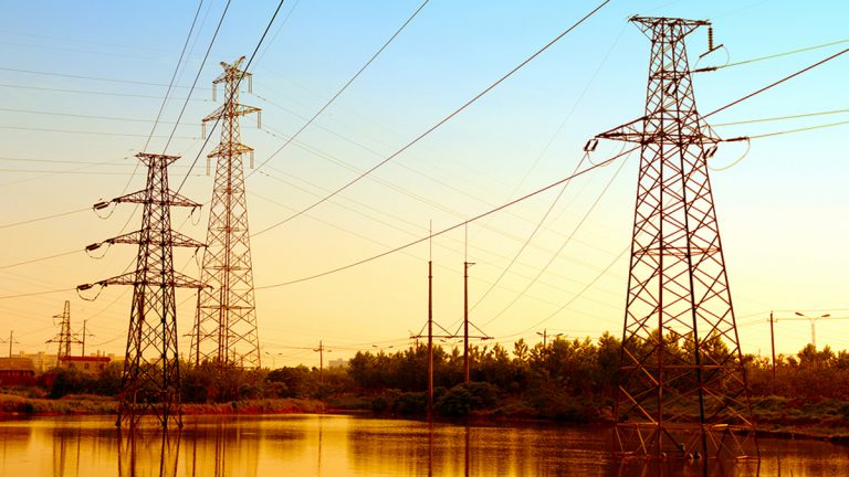 Electric power lines (Big Stock photo)