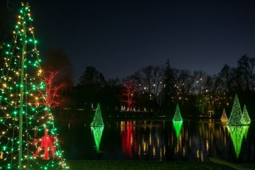 A Longwood Christmas features living floral displays